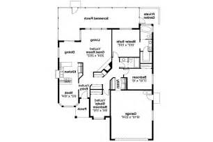 Spanish Floor Plans by Spanish Style House Plans Arcadia 11 003 Associated