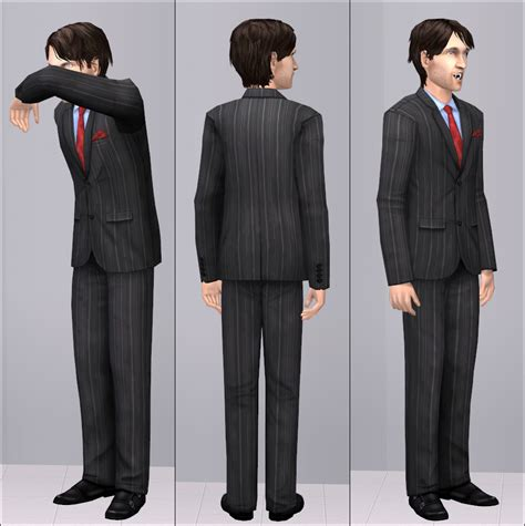 7 Suave Neckties For Your by Mod The Sims Suave Suit With Tie And Pocket Square X3 1