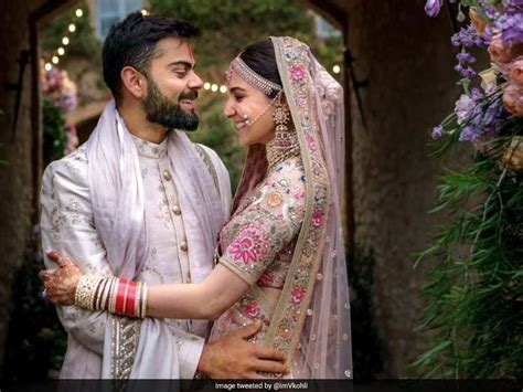 Virat Kohli Anushka Sharma 1st Marriage Anniversary: India