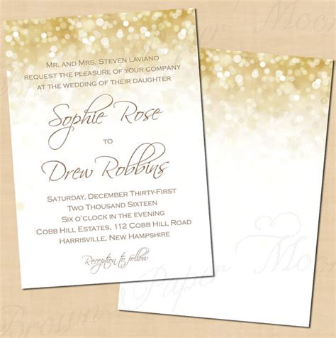 Wedding Invitations Gold And White by Best Selection Of White And Gold Wedding Invitations