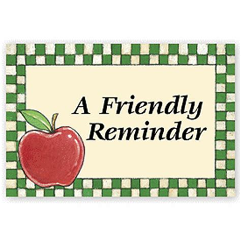 Friendly Reminder Lucky Shops by Business Postcards A Friendly Reminder Laser