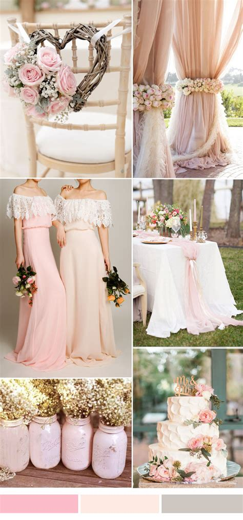 wedding colour themes spring and summer brides 25 hot wedding color combination ideas 2016 2017 and