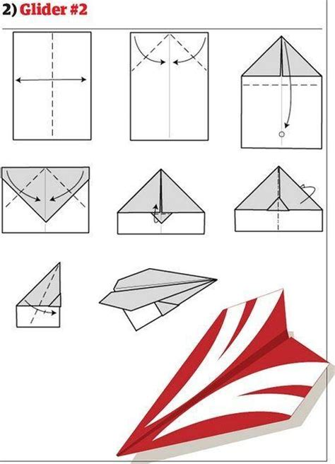 10 Ways To Make Paper Airplanes - paper airplane in different ways page 1