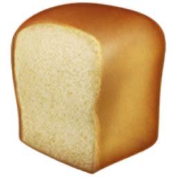 toast emoji bread emoji u 1f35e