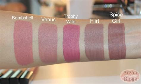 Lipstik Venus 222 best images about lip swatches and shades on