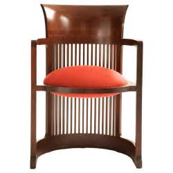 Stickley Armchair Frank Lloyd Wright Barrel Chair At 1stdibs