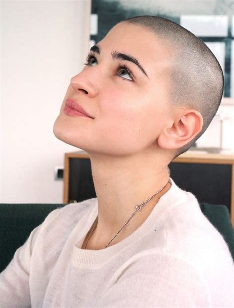 women with buzz cuts and head shave 17 best images about barbered on pinterest bald fade