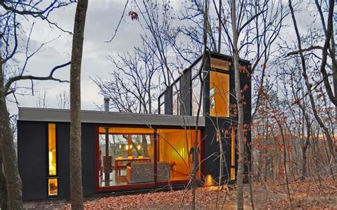 forest cabin redesign on a modest budget decor advisor caba 241 a apilada estudio johnsen schmaling architects