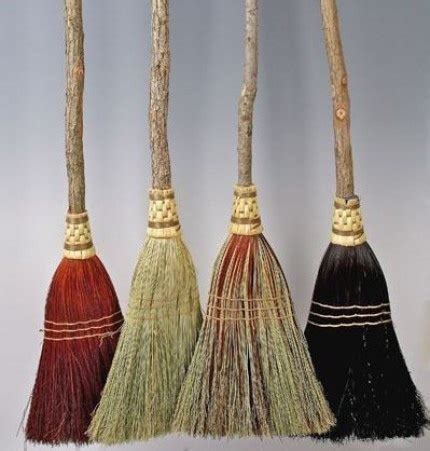 Handcrafted Brooms - pin by wanda on baskets