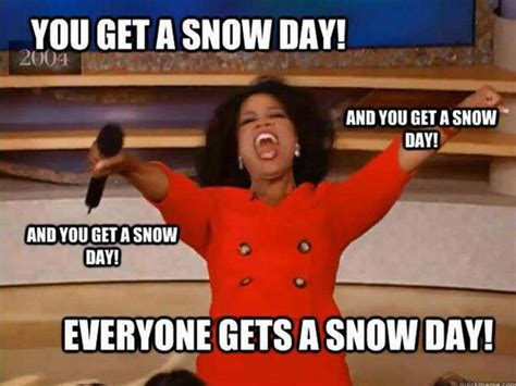 Snow Day Meme - make the most of a snow day uconn center for career