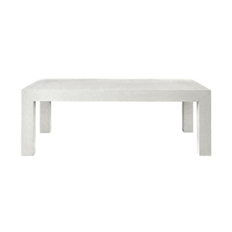 bungalow 5 parsons coffee table white