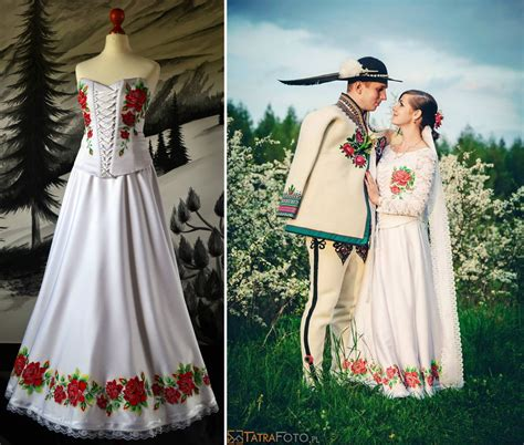 Wedding Clothing by Growing Trend Handpainted Wedding Dresses Inspired By