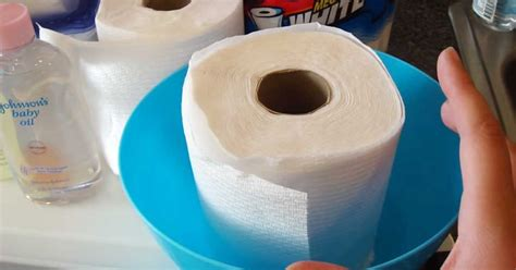 How To Make Baby Wipes With Paper Towels - turning a paper towel roll into baby wipes sf globe