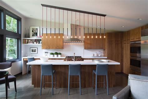 Esszimmer Le Hohe Decke by Connecticut Kitchen Contemporary Kitchen New York