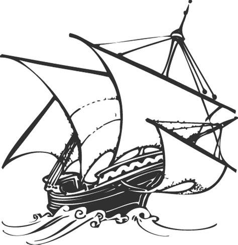 dibujo barco velero para colorear dibujos de barcos