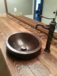 Wood Bathroom Countertop 17 Best Images About Wood Bathroom Vanities And Sinks On