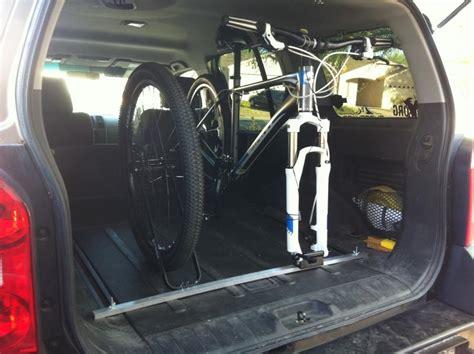 Xterra Interior Bike Rack best car for mountain bikers ride more bikes