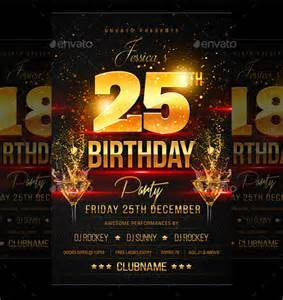 Free Birthday Flyer Templates birthday flyer template 37 free psd ai vector eps