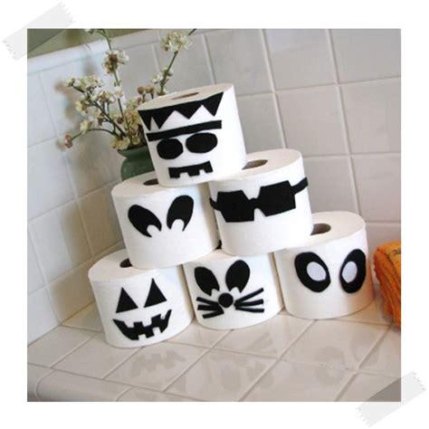 imagenes decoracion fiesta halloween decoraci 243 n de halloween monstruos de papel higi 233 nico
