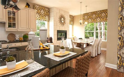 decorated model homes model home merchandising