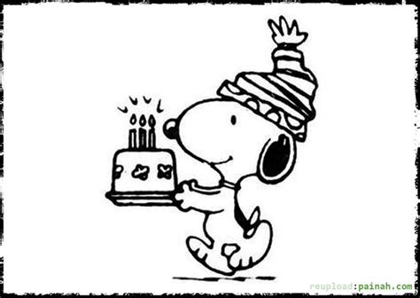 snoopy birthday coloring page 58 best happy birthday coloring pages images on pinterest