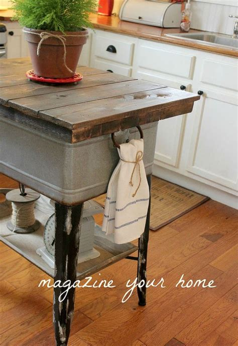 22 unique diy kitchen island 20 insanely gorgeous upcycled kitchen island ideas