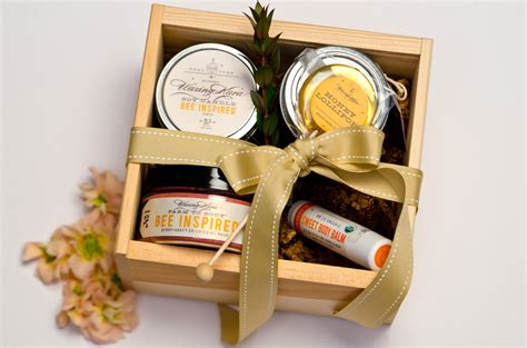 think of our bee inspired honey gift as a gift from the bees