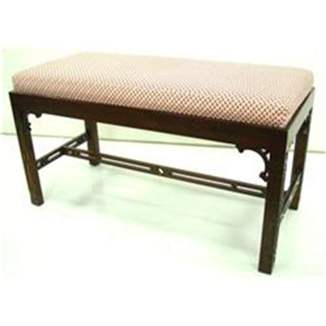 chinese chippendale bench mahogany chinese chippendale style bench