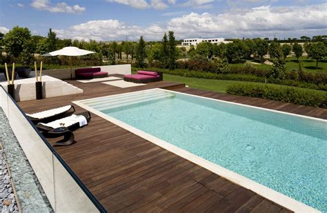 poolside designs rectangle pool designs that will give you awesome swimming