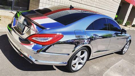 chrome wrapped cars chrome vehicle wrap vehicle ideas