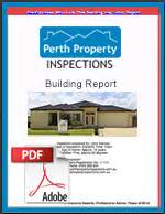 pre purchase building inspection report template home perth building inspections