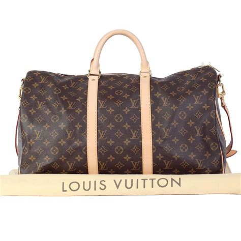Louis Vuitton Monogram louis vuitton monogram keepall bandoulier 50 luxity
