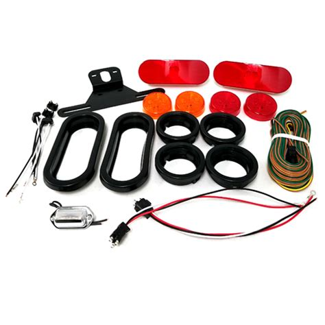 diode led kit one diode led trailer light kit with oval lights