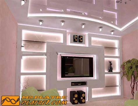 Decoration En Platre by Decoration Tv Wand Platre Platre