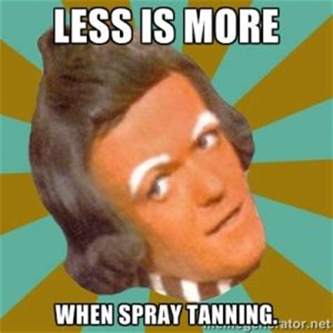 Spray Tan Meme - fake tan jokes kappit