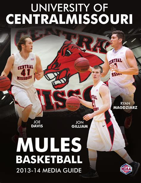 Of Central Missouri Mba Sports by 2013 14 Central Missouri Mules Basketball Media Guide By