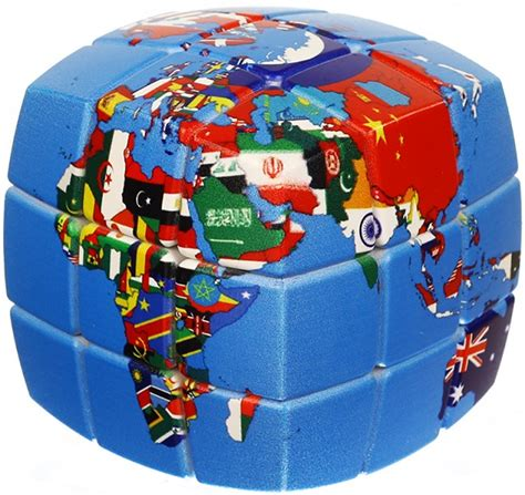 V Cube 5 Pillowed by V Cube 3 Pillowed 3x3 Cube Of Nations Twisty Puzzle