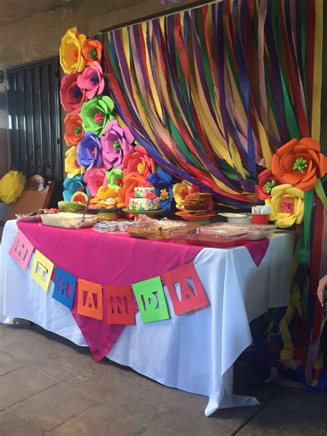 mexican themed decoration ideas mexican dessert table pinteres