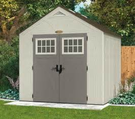 8 x 7 suncast new tremont four apex roof shed what shed