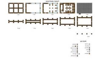 Mansion Blueprint Minecraft House Blueprints Layer By Layer 06 Minecraft
