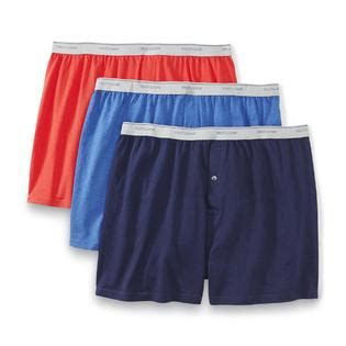 fruit of the loom knit boxers fruit of the loom s big 3 pack knit boxers