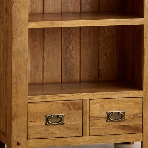 mainstays rustic oak bookcase quercus tall bookcase in rustic oak oak furniture land