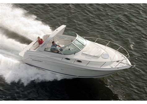 monterey boats manufacturer used monterey 282 cruiser power boats for sale boats