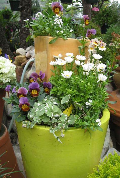 300 best stacking flower pots images on pinterest flower