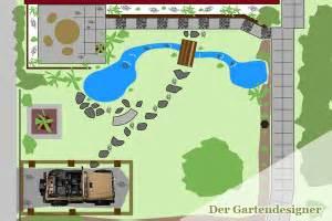 Garten Gestalten Grundriss by Bachlauf Anlegen Und Gestalten Der Gartendesigner