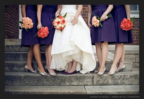 what goes with purple what color flowers go with lapis dark purple weddingbee