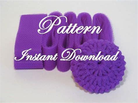 pattern for nylon net scrubbies scrubbie pattern for crocheted nylon netting dish scrubbies