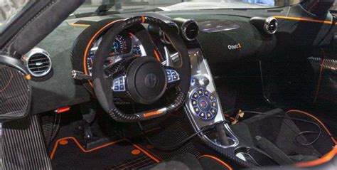 koenigsegg one interior koenigsegg one 1 price top speed engine specs 0 60