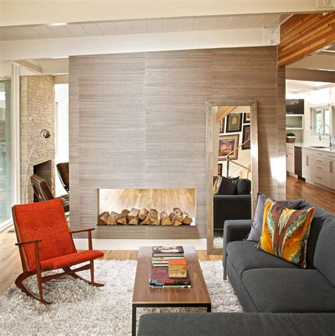 mid century modern residence modern living room denver by swiss milk studio