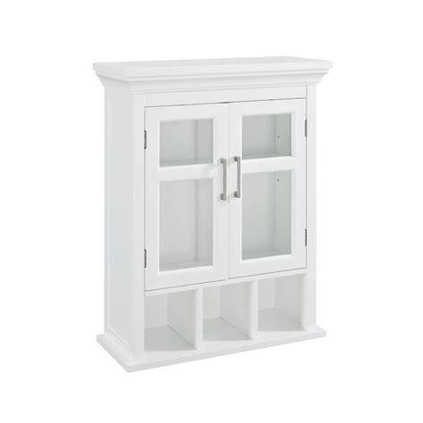 home depot wall cabinet glacier bay 23 inch bath storage wall cabinet the home